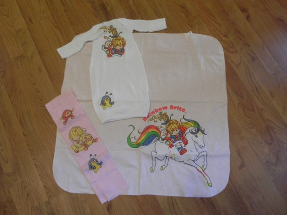 Rainbow Brite Baby Gift Set