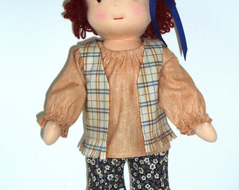 Groovy Wardrobe PDF Pattern for 16 inch Waldorf Doll