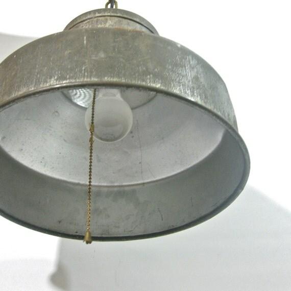 industrial metal pendant lamp