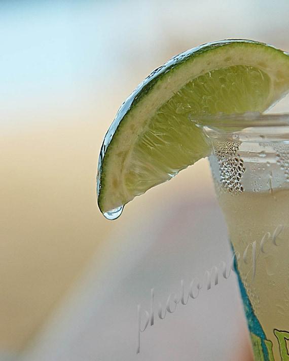 Lime on a Glass
