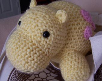 Harriet the Hippo Pattern