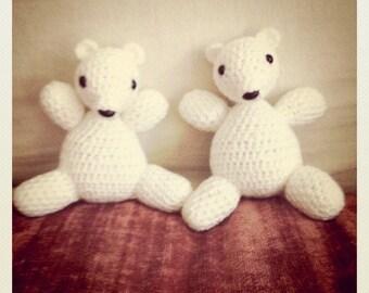 Crocheted Polar Bear Doll