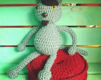 Crocheted Hep Cat Pattern