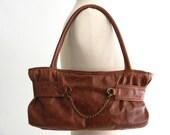 SALE-SALE-SALE brown distressd leather purse