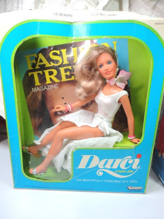 Rare Vintage Kenner mint in box Cover Girl Darci doll