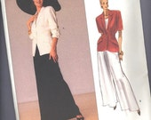 Donna Karen pattern for Vogue, no. 2297, from 1989 --- size 12-14-16 --- UNCUT