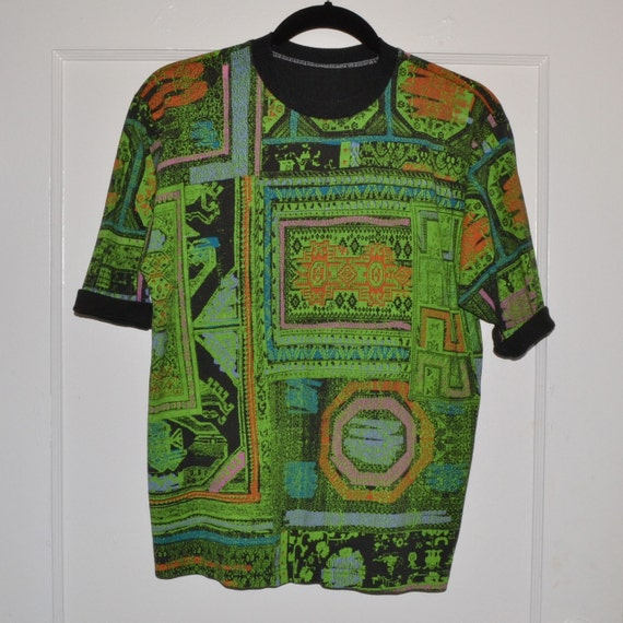 Rad Early 90s Vintage Printed Skater T-Shirt