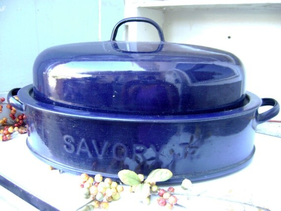 Savory Jr Enamelware Roasting Pan