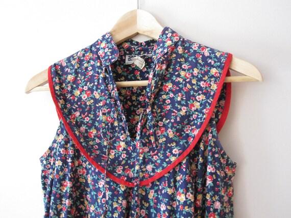 Sundays - Vintage Floral Mid-length Day Dress