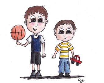 Custom Kids Caricatures