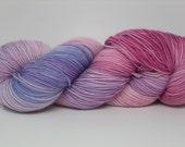 Sock Yarn Hand dyed Merino