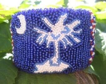 SOUTH CAROLINA FLAG bracelet