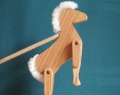 Limberjack Horse with dancing board and stick