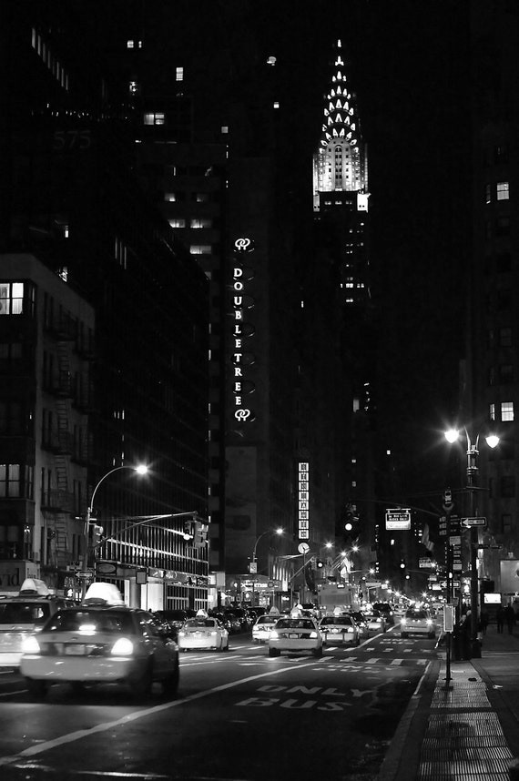New York City Photography - Big City Nights  - 11x17 Print on Professional Supra Endura Paper