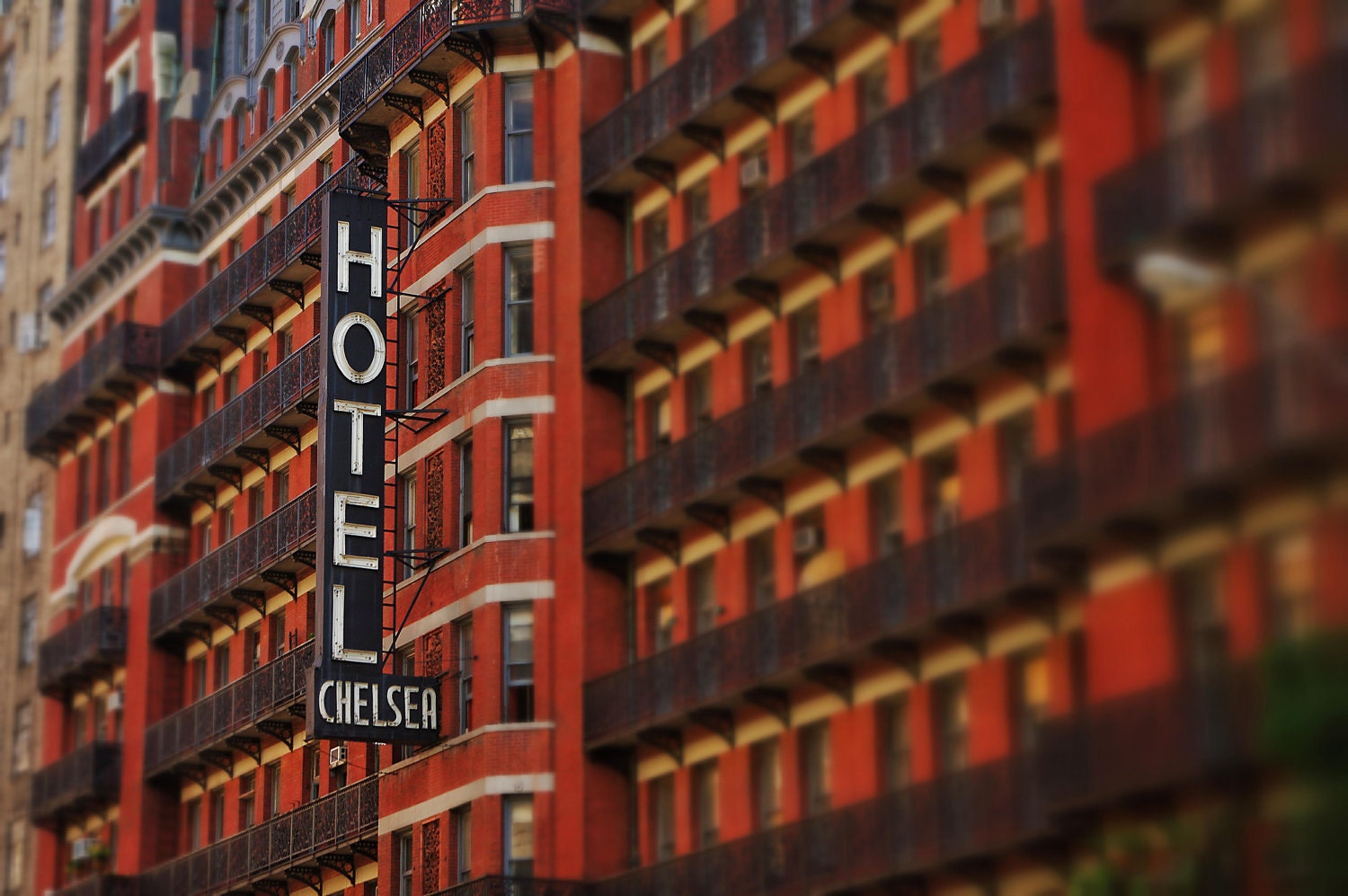 new york city photography chelsea hotel by jaybwilsonphoto. Black Bedroom Furniture Sets. Home Design Ideas