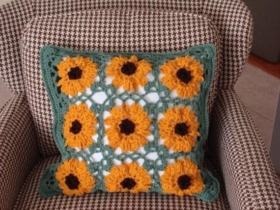 Sunflower Summer Pillow