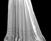 Late 19th Century Petticoat in Polished Cotton