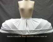 """18th century Full Pannier Extra Wide 48"""" across, Historical Underwear Marie Antoinette Rococo Costume Cosplay"""