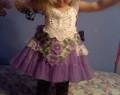 Custom made little girls Fairy Princess Dress MADE TO ORDER any size or color