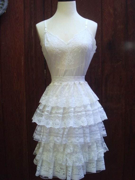 Bella Ruffle Wedding Dress --Made to order--