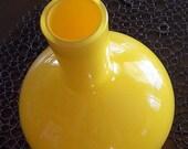Modern Retro Yellow Vase