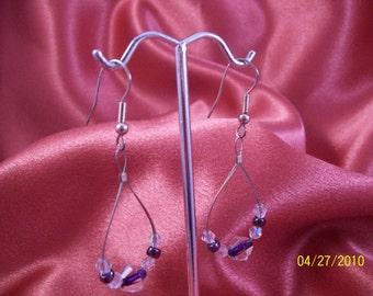 Vintage Wire Hoop Earrings