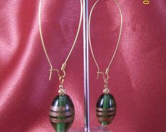 Emerald Empress Earrings