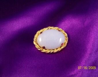 Vintage Moonstone Pin