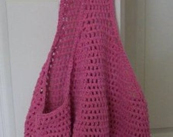 Pink Beach Bag / Market Bag