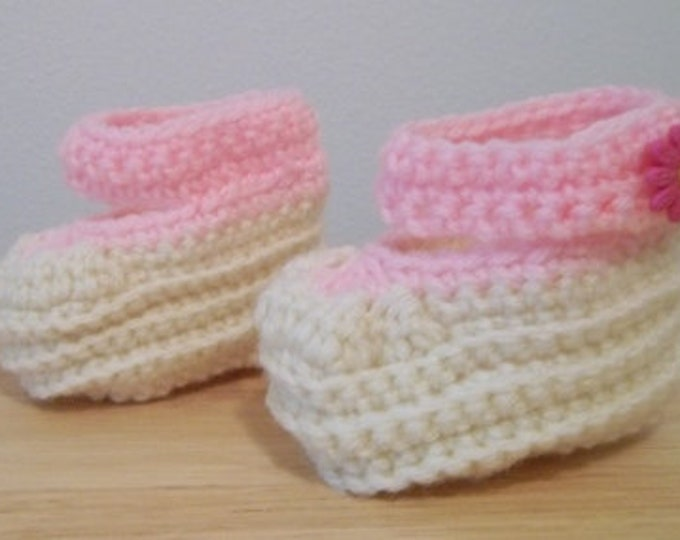 Booties - Crochet Booties for a Baby Girl / Toddler