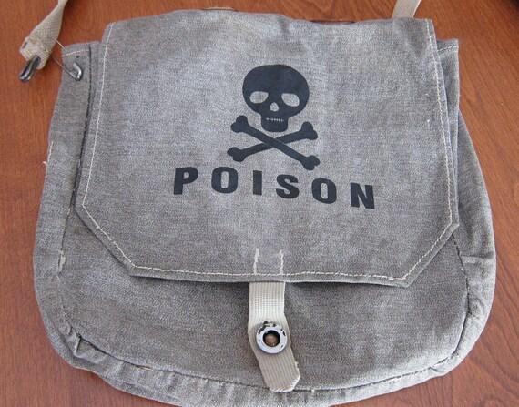 ARMY NAVY Poison Messenger Bag vintage military