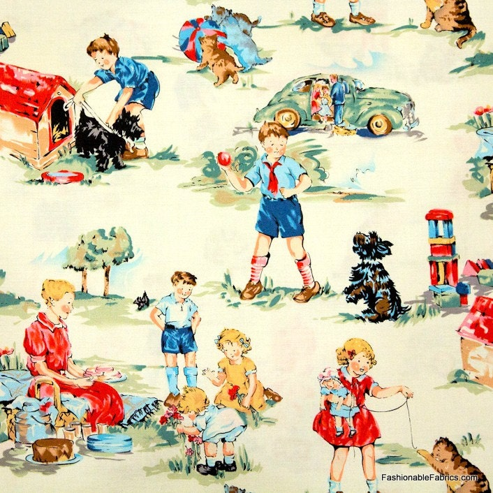 Dick And Jane Fabrics 117