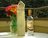 Tan Wine/Liquor Bag