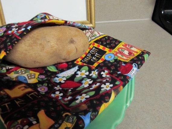 Microwave Potato Pouch