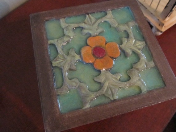 Wooden Box Hand Painted