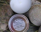 Tree Sap Massage Candle - You choose the scent.....