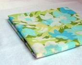 Vintage Sheet Fat Quarter - Blue and Green Floral