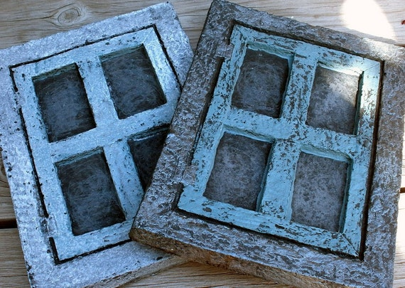 Handmade Dimensional Painted Cast Paper Frame Blanks Mixed Media