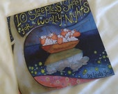 Childrens book - 10 Sleepless Sheep for Woolly Nights (with a hand drawn illustration and greeting inside by author)