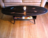 Cocoa Mid Century Coffee Table
