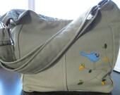 RESERVED  FOR  rdoerks:  Slouchy Hobo - Custom diaper bag