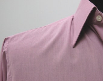 1980s Vintage Rael Brook Pink Shirt