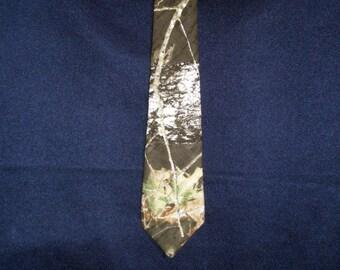 Mossy Oak Camouflage Necktie