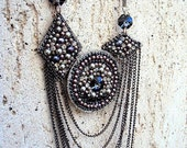 Long statement modern necklace-perfect for any occasion