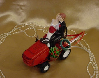 metal tractor wedding cake topper popular items for mower on etsy 17269