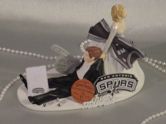 Unavailable listing on etsy for Spurs decorations