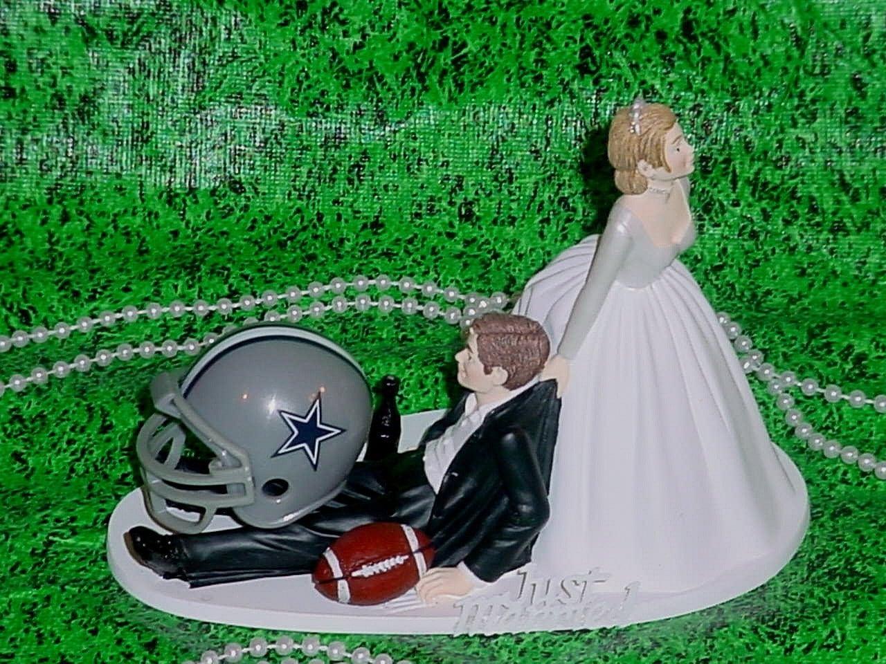 Dallas Cowboys Football Nfl Sports Groom Wedding Cake Topper