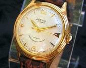 Vintage Astra Swiss 17 Jewel Manual Wind Wristwatch
