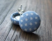 Spotty Sky Blue Earrings