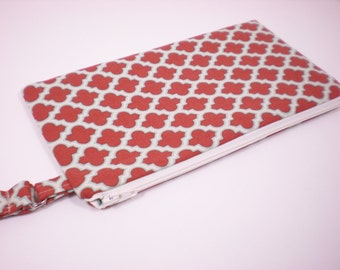 Zipper Wristlet--In Your Choice of Fabric
